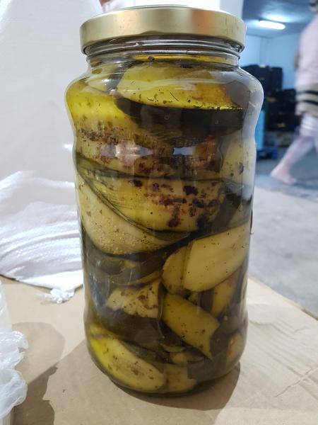 Zucchini la gratar in ulei ambalaj Horeca 2900 GR 1
