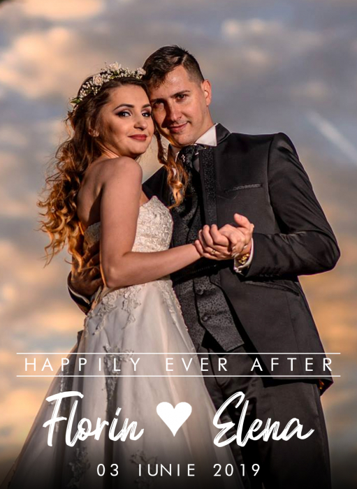 Vin personalizat Happily ever after 1