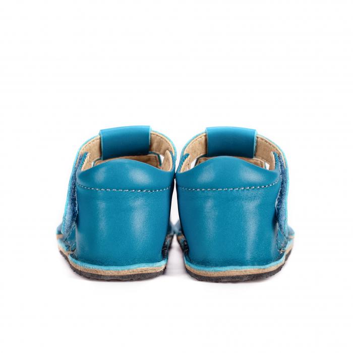 Săndăluțe Barefoot M2 Albastre [4]