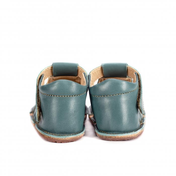 Săndăluțe Barefoot M2 Verde Marin [2]