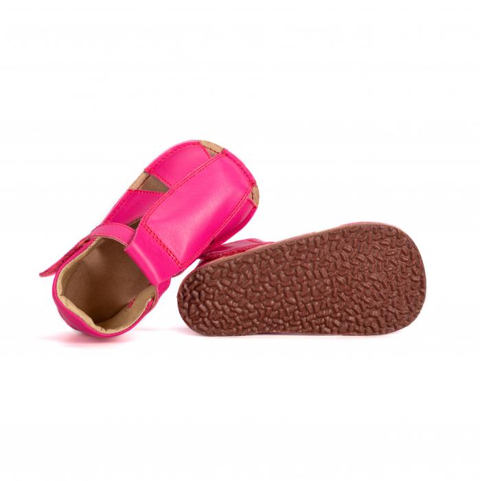 Săndăluțe Barefoot M2 Fucsia [3]