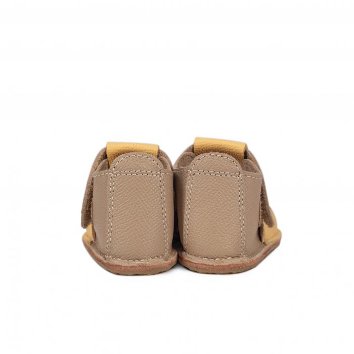 Papucei Barefoot Fluturas galben [3]