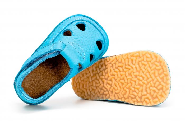 Săndăluțe Barefoot albastru [1]