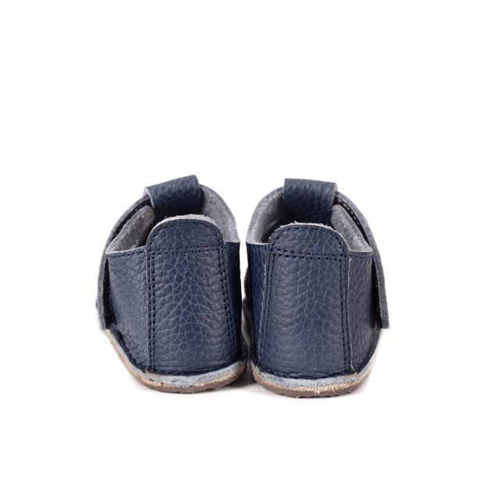 Săndăluțe Barefoot albastre [2]