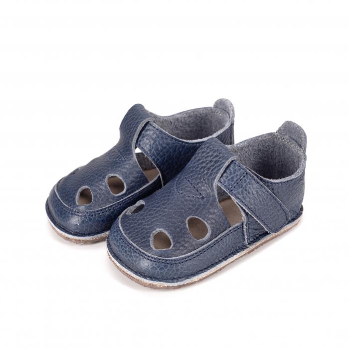 Săndăluțe Barefoot albastre [1]