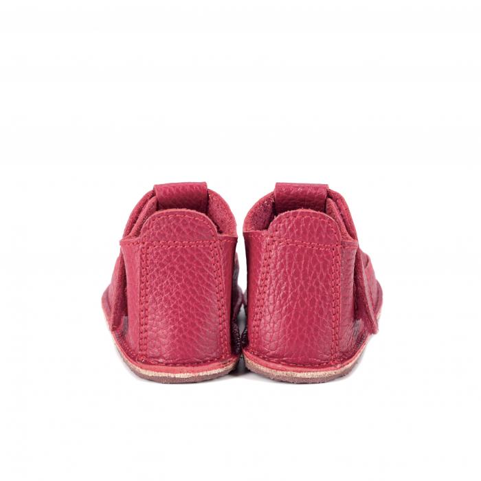 Săndăluțe Barefoot roșu zmeuriu [2]