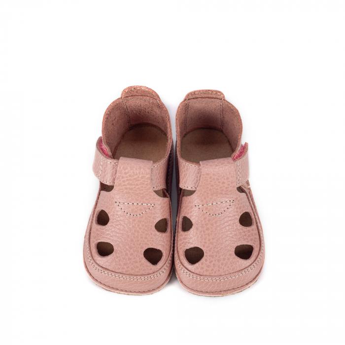 Săndăluțe Barefoot roz prăfuit [0]