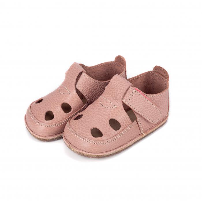 Săndăluțe Barefoot roz prăfuit [1]