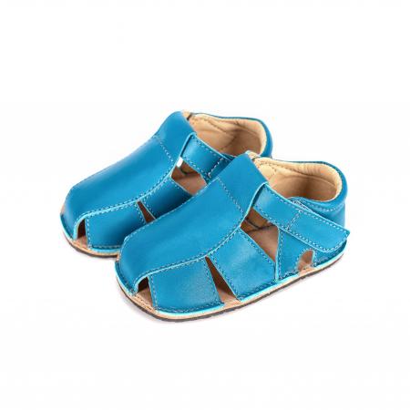 Săndăluțe Barefoot M2 Albastre [1]