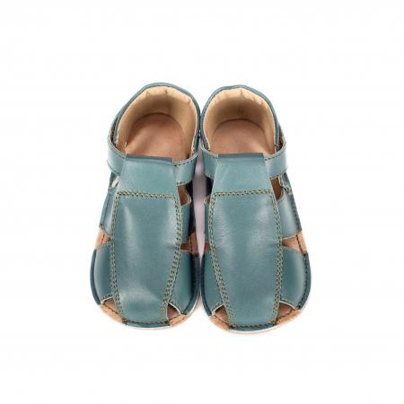 Săndăluțe Barefoot M2 Verde Marin [0]