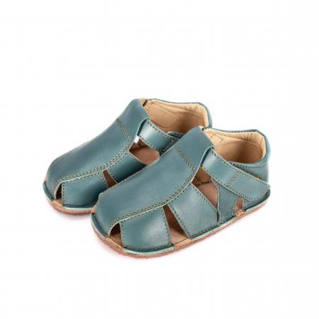 Săndăluțe Barefoot M2 Verde Marin [1]
