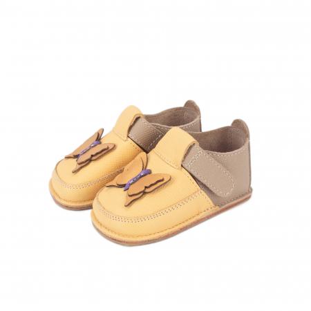 Papucei Barefoot Fluturas galben [0]