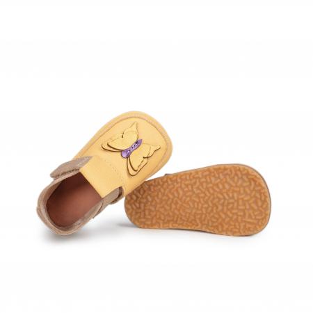 Papucei Barefoot Fluturas galben [1]