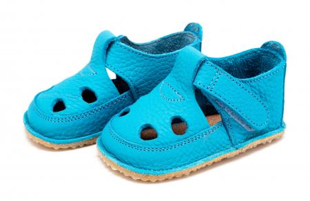 Săndăluțe Barefoot albastru [0]