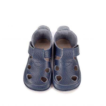 Săndăluțe Barefoot albastre [0]