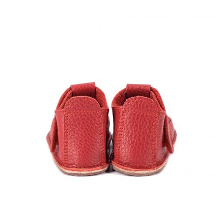 Săndăluțe Barefoot roșii [2]