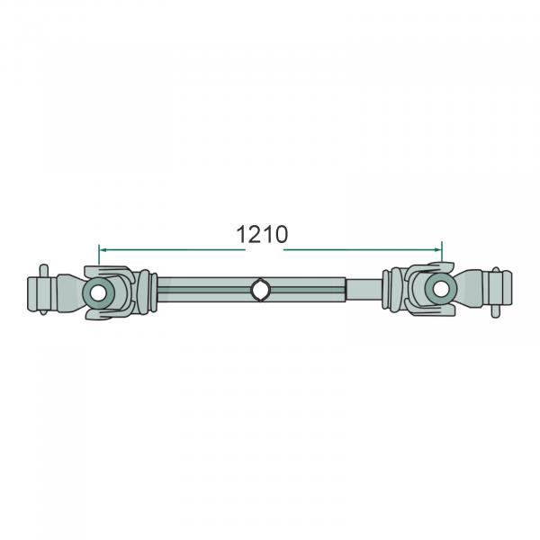 Arbore cardanic - F24, G5/G6 - 1210mm [1]