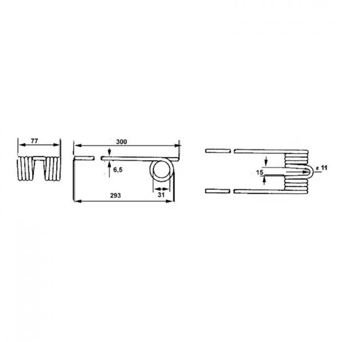 Arc greblă rotativă Vogel & Noot [1]