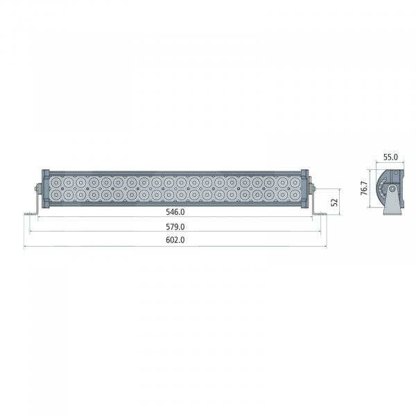 Bara luminoasă cu LED [1]