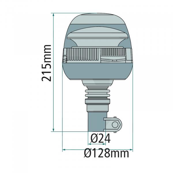 Girofar cu LED [1]