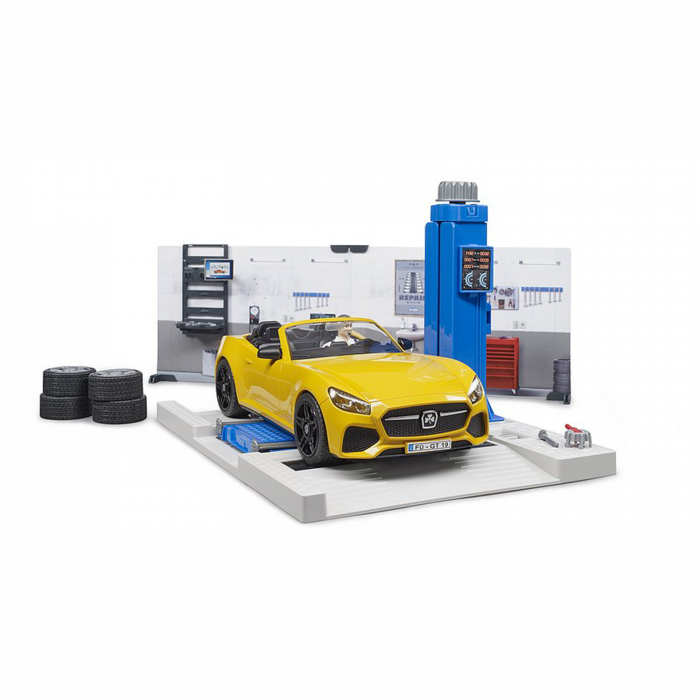 Atelier de service auto [0]
