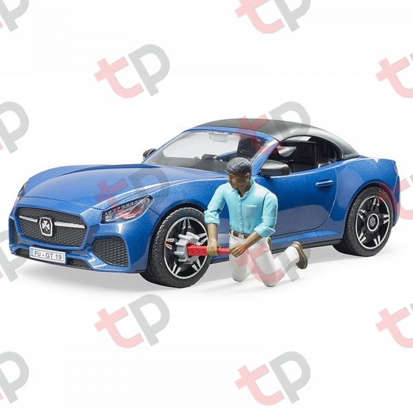 Jucărie - Mașină Roadster decapotabilă cu șofer [2]