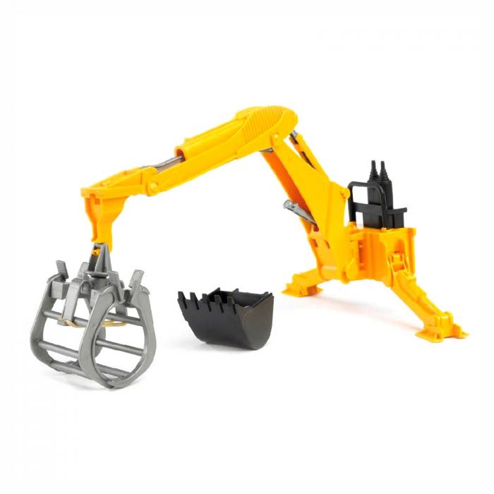 Jucărie - Braț Excavator cu Graifer și Cupă [0]