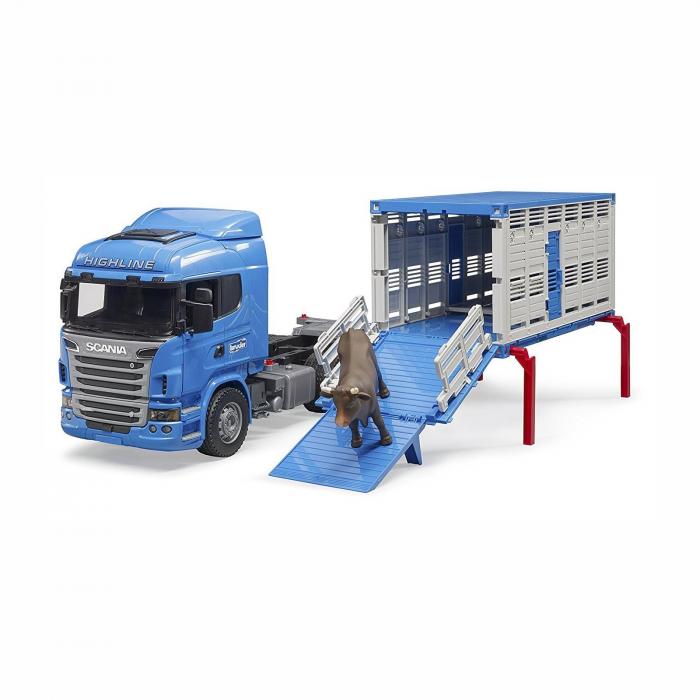 Camion Scania seria R pentru transport animale [1]