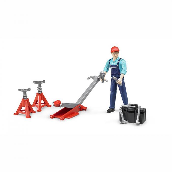 Jucărie - Figurină mecanic cu accesorii [1]