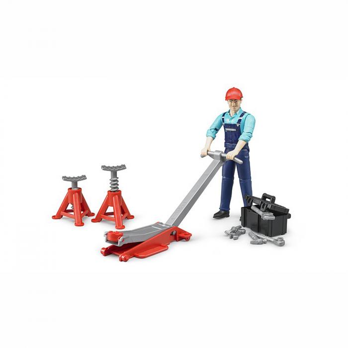 Jucărie - Figurină mecanic cu accesorii [0]