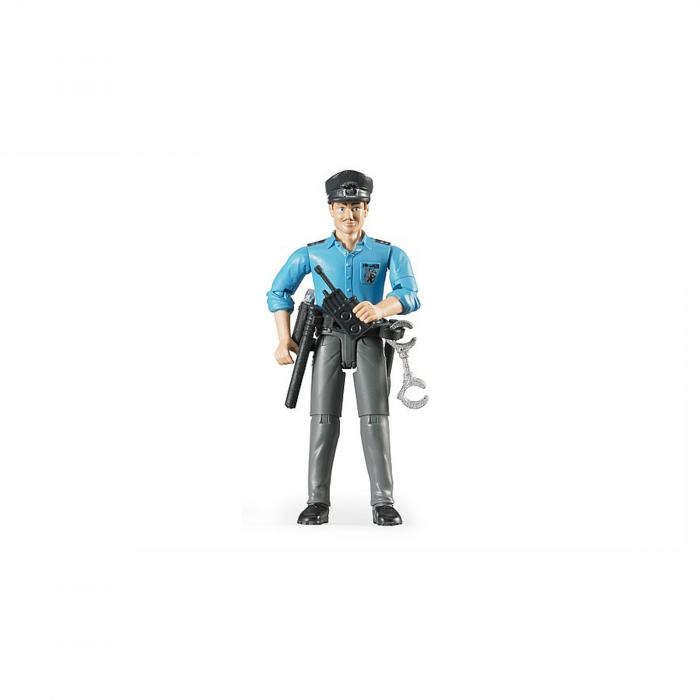 Jucărie - Figurină polițist cu accesorii [0]