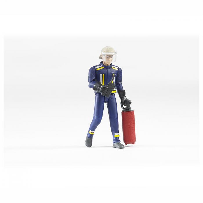 Jucărie - Figurină pompier cu accesorii [0]