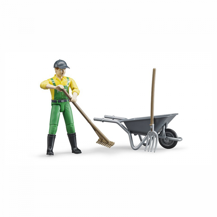 Figurina agricultor cu accesorii [2]