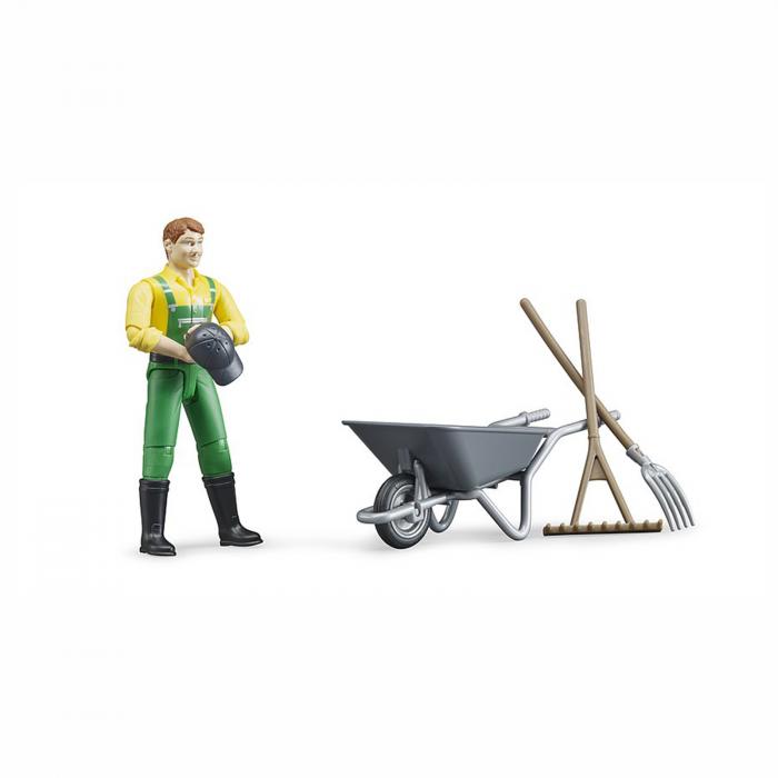 Figurina agricultor cu accesorii [1]