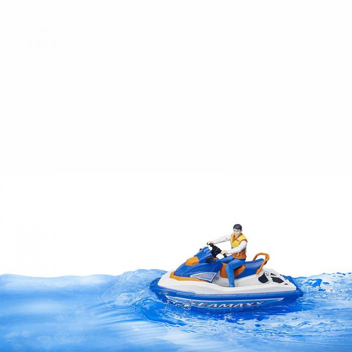Jet ski cu figurină bărbat [2]