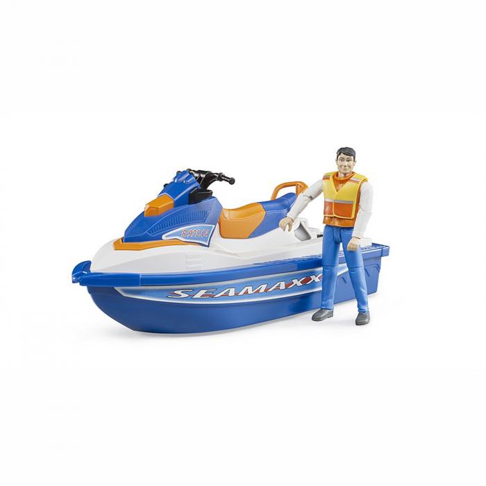Jet ski cu figurină bărbat [1]
