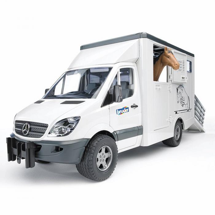 Mașină transportator animale MB Sprinter cu 1 cal [0]