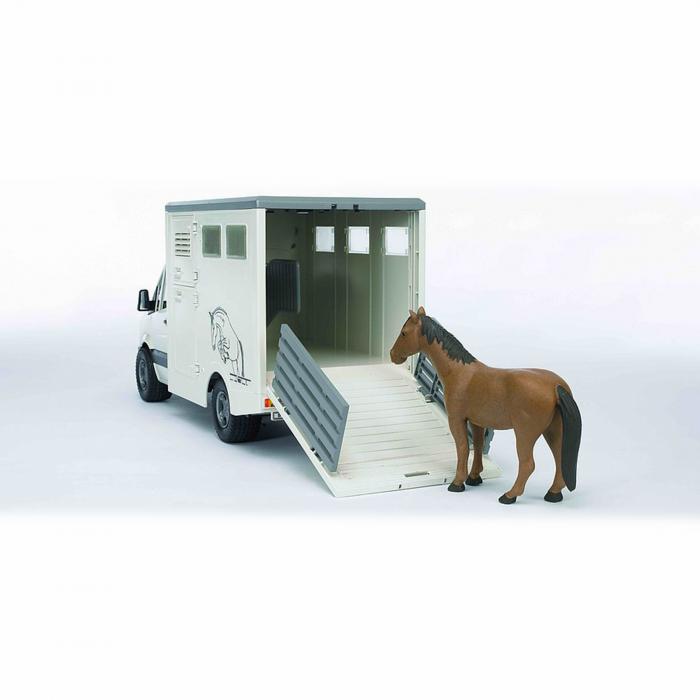 Mașină transportator animale MB Sprinter cu 1 cal [3]