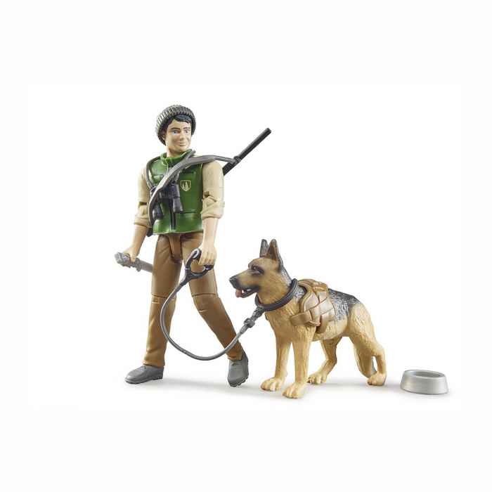 Jucărie - Pădurar cu câine și echipament [0]