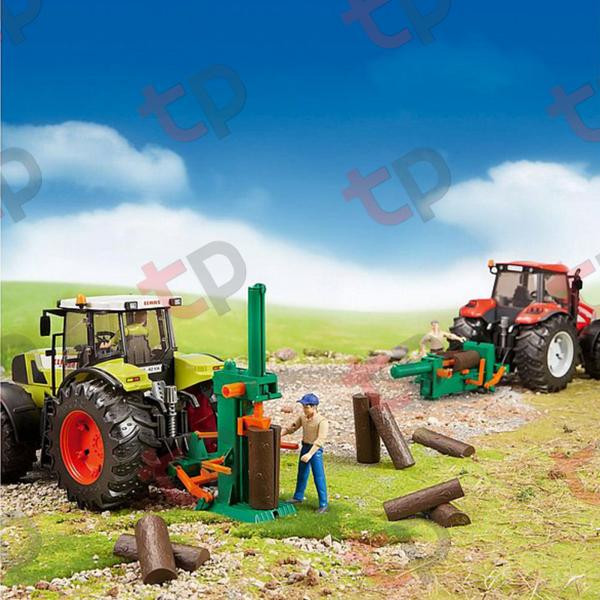 Jucărie - Set figurină lucrător forestier cu accesorii [2]