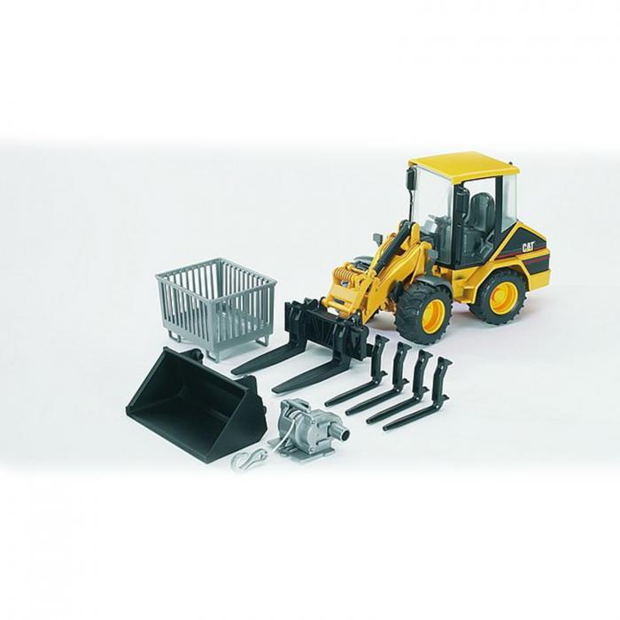 Jucărie - Set accesorii pentru încărcător frontal [1]
