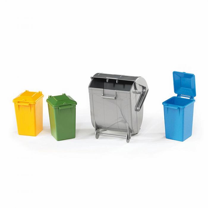Jucărie - Set Containere Gunoi [0]