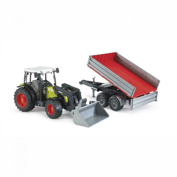 Jucărie - Tractor Claas Nectis 267F cu remorcă basculabilă și încărcător frontal [0]