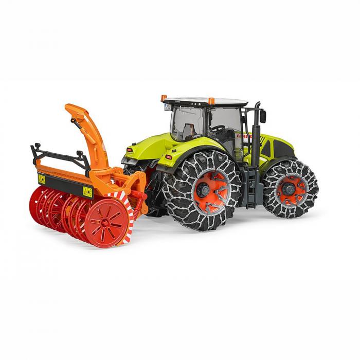 Jucărie - Tractor cu Lanțuri de Zăpadă și Freză Claas Axion 950 [1]