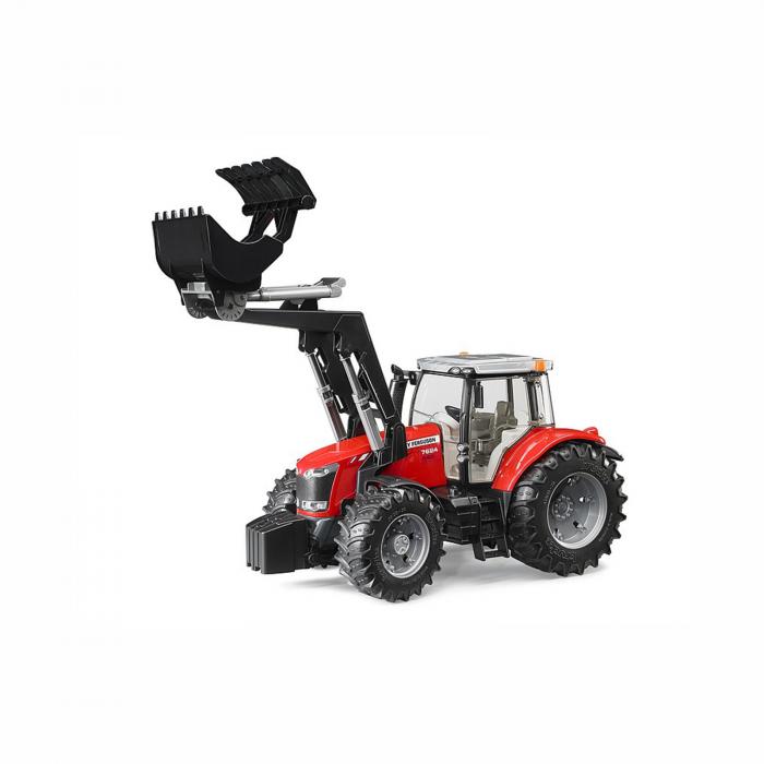 Jucărie - Tractor Massey Ferguson 7624 cu Încărcător Frontal [1]