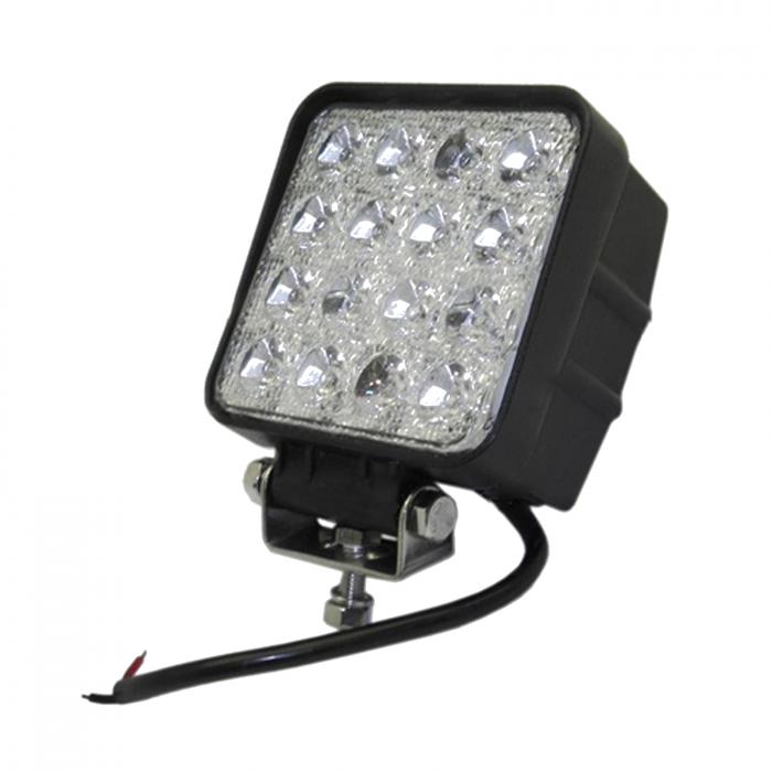 Lampă pătrată LED - 48W, 3070 lumeni, 16x3 [0]
