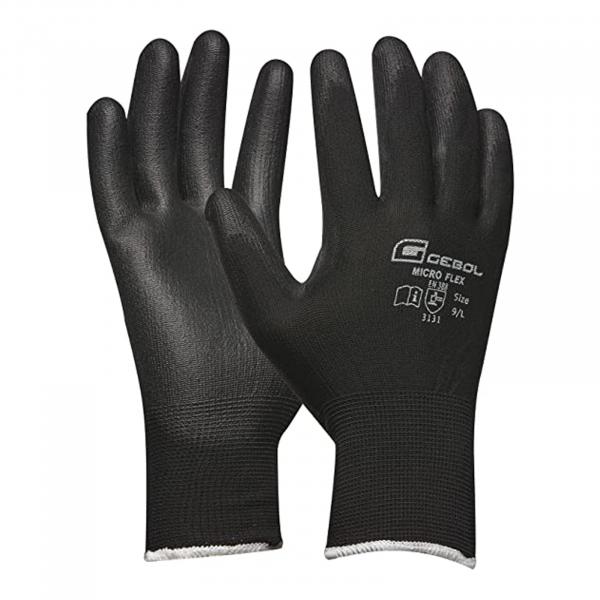 Mănuși de atelier negre [0]