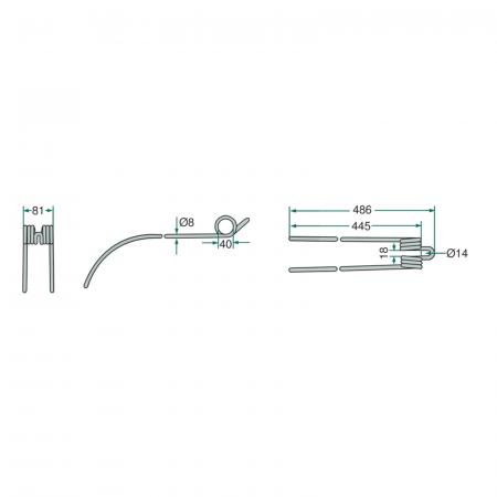 Arc greblă Deutz-Fahr [1]