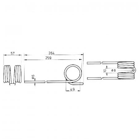 Arc greblă rotativă JF [1]