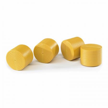 Jucărie - Baloți rotunzi 4 bucăți [0]